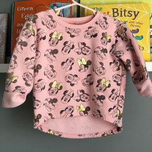 Old Navy Toddler Size 3 Minnie Mouse Sweatshirt!